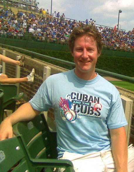 Another Cuban Tee Spotted at Wrigley