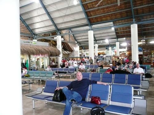 At the Punta Cana Airport